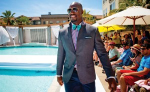 Vernon Davis is featured on YSTL inaugural show as he takes us around Santana Row during their annual fashion show.